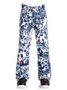Брюки сноубордические ROXY BACKYARD G PT P G SNPT BUTTERFLY BLUE PRINT