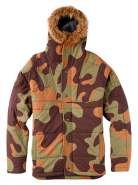 Куртка Burton BOYS ASPEN JKT  MOUNTAIN CAMO
